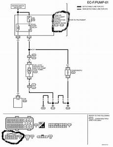 2008 nissan titan horn wiring diagram 2004 nissan titan where is the fuel relay and how is it identified