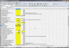 household budget excel template spreadsheets