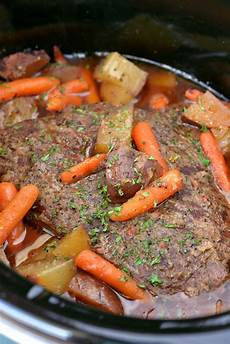 slow cooker pot roast the gunny sack