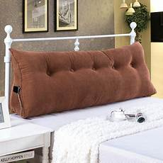 Lumbar Pillows For Sofa by Sofa Bed Large Filled Triangular Wedge Cushion Bed