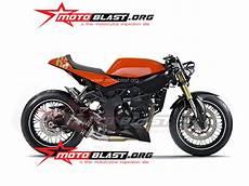 250 Sl Modif by Modif Kawasaki Z250sl Ala Cafe Racer Curan Motoblast