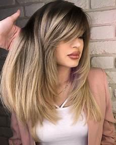 50 cute layered haircuts with bangs 2019