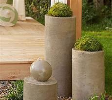Wassertrog Beton Selber Bauen - home dzine garden diy concrete water feature