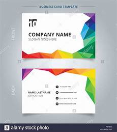 colorful name card template business name card template design abstract colorful low