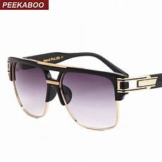Peekaboo Top Quality Sunglasses 2018 Brand Design Big