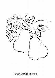 Lustige Ausmalbilder Obst Ausmalbild Birnen Am Ast Kostenlos Ausdrucken