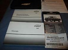 free service manuals online 2006 chevrolet silverado 2500 electronic valve timing 2006 chevrolet silverado lt ls 4x4 1500 2500 owners manual new set chevy z71 ebay