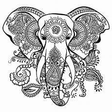 elephants free to color for children elephants