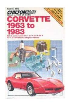 car repair manuals download 2010 chevrolet corvette on board diagnostic system chevrolet corvette 1963 1983 chilton automotive repair manual ch6843 ebay