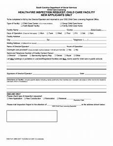 fillable online scchildcare dss form 2905 oct 13 dss form 2905 oct 07 qxd scchildcare fax