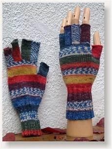 handschuhe stricken ohne finger allerlei strickerei designblog