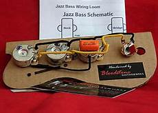 Ready Built Fender Usa Jazz J Bass Wiring Upgrade Loom