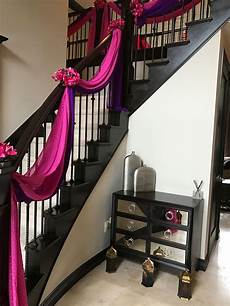 Home Decor Ideas For Indian Wedding by Home D 233 Cor And Staircase Drapes D 233 Cor For An Asian Indian