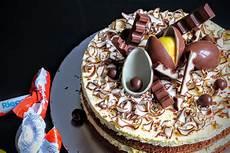 kinderschokolade torte schokoladen kuchen s 252 223 e b 228 ckerei