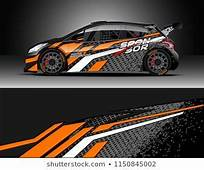 Rally And Drift Car Wrap Design Vector Truck Cargo