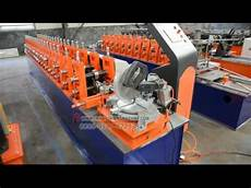 aluminum screen frame roll forming machine youtube
