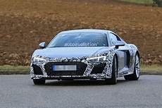 Audi R8 Facelift - spyshots audi r8 facelift makes testing debut looks like