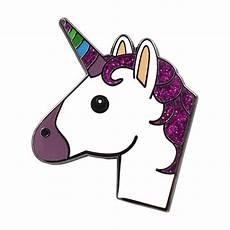 Emoji Malvorlagen Unicorn Unicorn Emoji Pin Enamel Pin For Your Real Sic