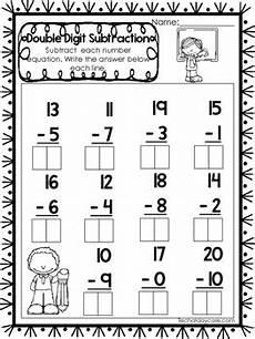 subtraction worksheets for grade 1 up to 20 10297 15 digit subtraction worksheets numbers 10 20 preschool 1st grade math