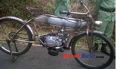 Sepeda Motor Modifikasi by Ini Sepeda Ontel Motor Hasil Modifikasi Warga Kawali