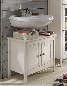Waschtisch Weiß Holz - waschtisch unterschrank 65x57x38cm kiefer massiv