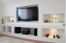 Tv Wand Rigips - kombination trockenbau mit fertigelementen trel