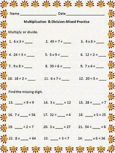 mixed multiplication and division worksheets grade 5 6584 freebie thanksgiving themed worksheet multiplication facts 0 9 quotients up to 9 12 mix