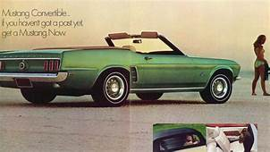 Mustang In The 60s Vintage Ads  Am New York