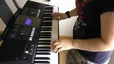 mamma abba on keyboard yamaha psr e423
