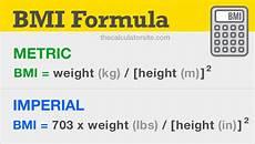 Bmi Formula How To Use The Bmi Formula