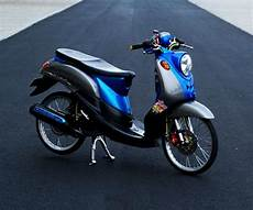 Fino Modifikasi Sederhana by Foto Modifikasi Yamaha Fino Sederhana Dan Simple Paling
