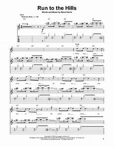 run to the hills sheet music direct