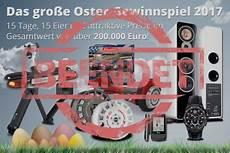 Oster Gewinnspiel T 228 Glich Ostereier 246 Ffnen Und Preise