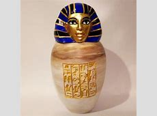 3D Printable Ancient Egyptian Canopic Jar: Imsety by