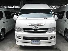 toyota hiace commuter 2 5 d baujahr 2006 lieferwagen