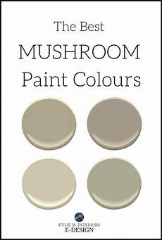 the 5 best mushroom inspired paint colours benjamin and sherwin mushroom paint greige paint