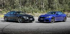 2018 bmw m4 v m4 cs comparison