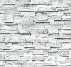 stein tapeten tapeten mit steinmuster vliestapete stein 3d optik grau