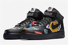 nike air supreme official images of the supreme x nike air 1 mid in