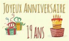carte anniversaire enfant 19 ans virtuelle gratuite 224 imprimer