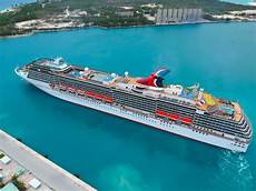 carnival cruise line returns to freeport bahamas