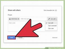 how to share google docs 12 steps with pictures wikihow