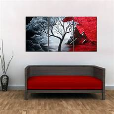 paintings for home decor 3 pieces set modern abstract painting the cloud tree hd