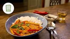 Curry Mit Kokosmilch - rotes thai curry mit huhn und paprika chefkoch de
