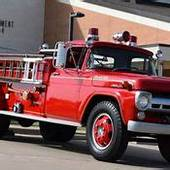Fire Damaged Ford F600 Truck With 40 Pitman Aerial