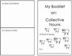 lots of quot little books quot for different topics free printables collective nouns nouns worksheet