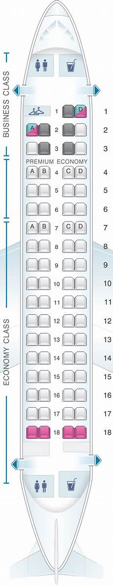 Lot Airlines Seating Chart Seat Map Lot Polish Airlines Embraer 170 Seatmaestro