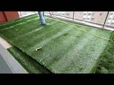 Pose De Pelouse Synthétique Tutoriel Pose Gazon Artificiel Sur Terrasses By Greenside