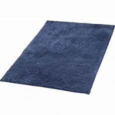 bad teppich the cotton company badteppich organic lace 70x120 cm blau