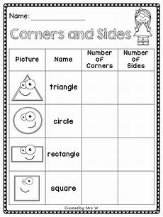 shapes teaching shapes preschool math elementary math
